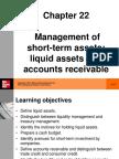 Peirson_11e_ch_22 Management of Short Term Assets Liquid Assets and Accounts Receivable