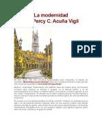 4.- Unidad I Modernidad y Pormodernidad