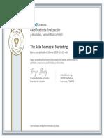 CertificadoDeFinalizacion_The Data Science of Marketing