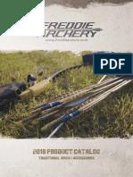 Freddie Archery Catalogue 2018