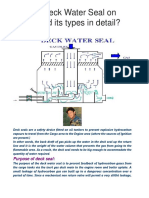 What is Deck Water Seal on tanker and its types in detail.docx
