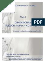 Microsoft Powerpoint - Tema 2-Dimensionamiento a Flexion Simple y Compuesta