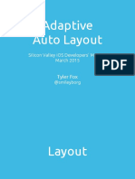 Adaptive Auto Layout - SViOS Slides