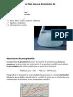 Tema7-Equilibrio en Fase Acuosa-Reacciones de Precipitacion