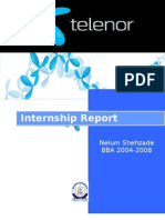 Telenor Internship Report