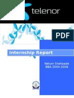Telenor Internship Report
