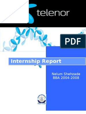 Telenor Internship Report | Market Segmentation