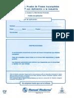 FIGS - Cuadernillo y Calificación