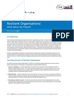 Resilient Organisations- Characteristics of Resilient Organisations (1)