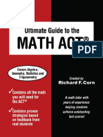 Ultimate Guide to the Math ACT - Richard Corn