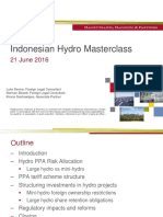 HHP - Indonesian Hydro Power Project Seminar Presentation