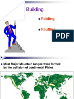 Mountain Building-folding and Faulting
