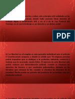 Diapositivas Derecho Laboral CUH