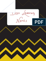 Deep Learning Notes