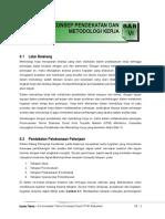 Konsep Pendekatan Dan Metodologi Pelaksanaan Pekerjaan