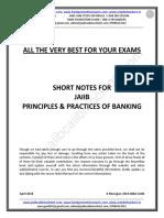 JAIIB-PPB-Short Notes by Murugan