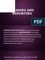 5 Grading and Reporting