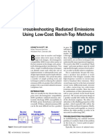 Troubleshooting Radiated Emissions Using Low Cost Bench Methods