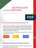 (Perubahan Psikologis Pada Korban Bencana).pptx