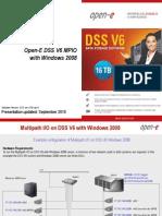 Open-E DSS V6 MPIO with Windows 2008