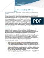 IFRS and U.S. GAAP Convergence Projects Update