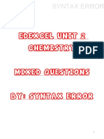 Edexcel Unit 2 Chem-mixed