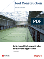 Technical Article Cold Formed High Strength Tubes for Structural Applications