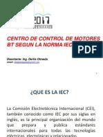 Centro de Control de Motores Bt Segun La Norma Iec