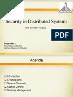 Securityindistributedsystems