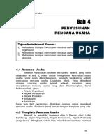 Bab 4 Penyusunan Rencana Usaha.doc