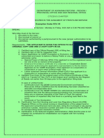 Exemption Under DOJ 44