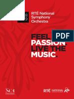 RTE National Symphony Orchestra 2018-2019 Season