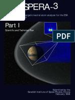 ASPERA-3 - Scientific and Technicakl Plan (Mars Express)