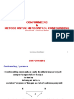 Mengontrol Confounding (Bacaan)