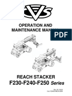 Manual de Servicio y Mantenimiento - Ferrari Reach Stacker f258