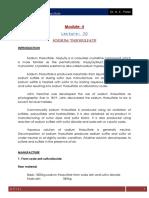 Lecture 20 Sodium Thiosulfate