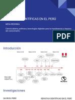 Revistas Científicas en El Perú_Aurora de La Vega