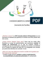 Presentación Comedor Abierto AFA Del CEIP Espartidero
