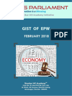 Gist of EPW February 2018 Www.iasparliament.com