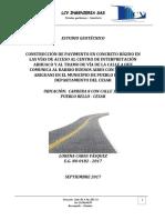 Estudio Geotecnico Acceso Ariguani