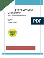 Buku Panduan Praktikum Mikroskop