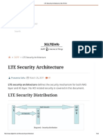 LTE Security Architecture 3GLTEInfo