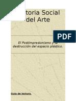 El Postimpresionismo y La Destruccion Del Espacio Plastico