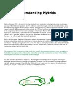 Prius Understanding Hybrids