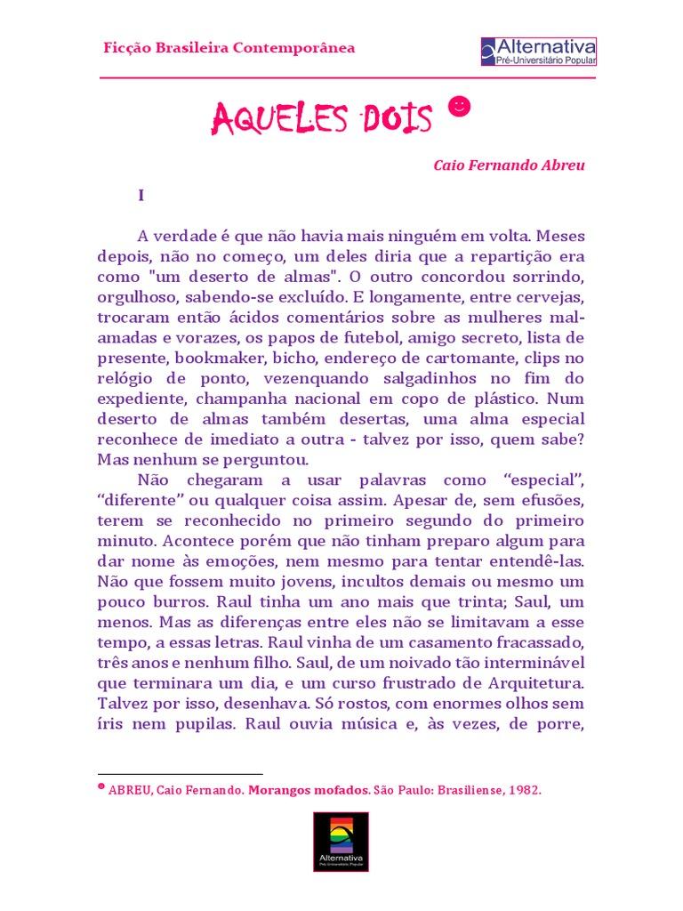 MOFADOS LIVRO ABREU FERNANDO DE BAIXAR CAIO MORANGOS