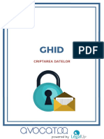 GDPR - criptarea datelor