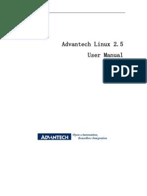 Advantech Linux 2 5 User Manual V1 06(1) | Booting