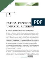 Tema 4. Fatiga - Tensión Uniaxial Alterna