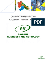 Presentation Company Saw-Mill Alignment and Metrology SPA