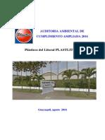 Auditoria Ambiental de Cumplimiento y Licencia Ambiental